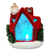 Resin Christmas House Nite Lite Xmas LED Decoration