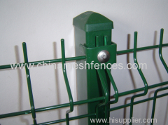 Ecnomical 3D Curved Wire Mesh Fence
