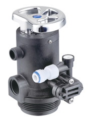 Manual flush water softener valve Double Way flush