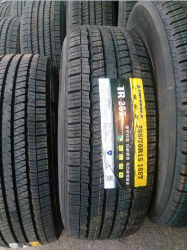 255/70r15 108T high quality passenger car radial tires