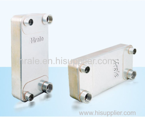 HRALE B3-115A BRAZED PLATE HEAT EXCHANGER