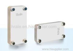 HRALE B3-105A BRAZED PLATE HEAT EXCHANGER