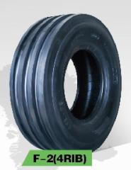 4Rib Front Tractor Tyres F-2(4RIB) With Tube 11LX15 TT