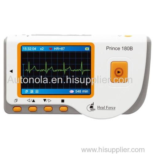 Prince 180B Portable and convenient electrocardiograph Monitor
