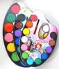 12 colors Solid Watercolor paint set