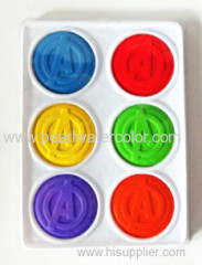 Diameter 4omm Solid Watercolor Paint Pan Box
