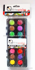 16 Colour Solid Watercolor paint box