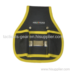 tool pouch with tape holder