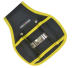 black & yellow tool pouch