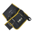 black & yellow tool waist bag