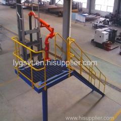 truck railcar loading arm
