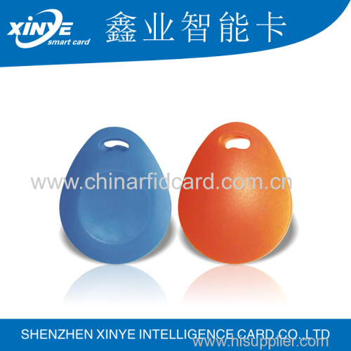 China supplier LF rfid ABS keyfob