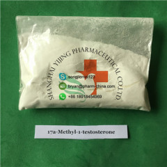 98% Purity M1T Anabolic Steroids Raw Powder 17A-Methyl-1-Testosterone For Male Muscle Building CAS 65-04-3
