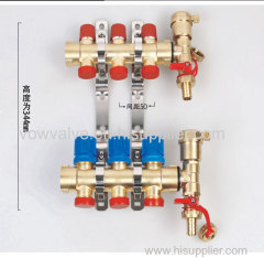 brass manifold for water system