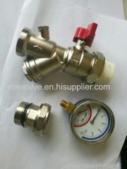 brass Filter Valve for water system