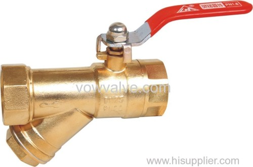 brass Filter Valve for water