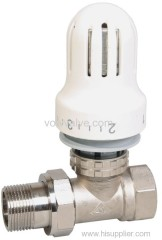 thermostatic radiator valve-heating system