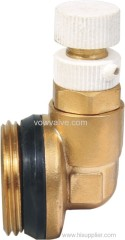 brass plug fitting for water system