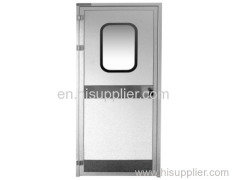60 Aluminum alloy cocated steel door