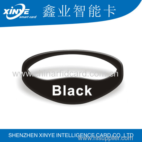 Hot sale RFID silicone waterproof wristband
