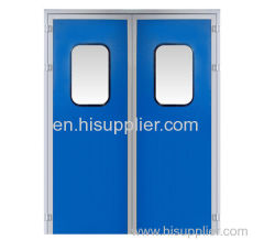 Melanmine resin purification double door