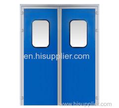 Melanmine resin purification double door