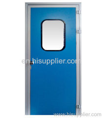 Melanmine resin purification single door
