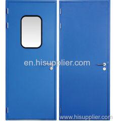 Sincjle puritication door of Steel