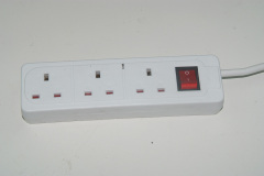 Hot selling 3 pin 13A 250V British UK Socket