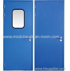 Purification door of steel