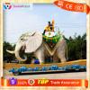 Animatronics Animated hand carved elephant figurine