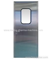 Puerta de purificación de acero inoxidable