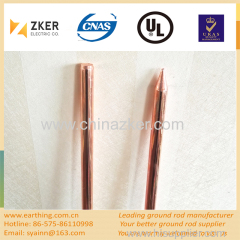 copper bonded steel ground rod
