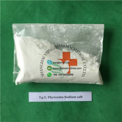 Weight Loss APIs Raw Powder T4 L-Thyroxine Sodium Salt CAS 51-48-9