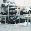 Parking steel frame prefabricated building