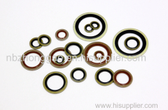 Self Centering Bonded Seal Rubber Bonded Sea FKM Bonded Seal