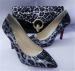 Zapatos y bolsos de leopardo para mujer
