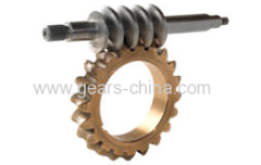 worm gear ratio calculator