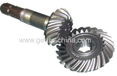 china supplier spiral bevel gear