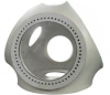 Good quality wind iron castings