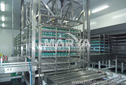 Hot Water Sterilizer for Infusion Products Glass
