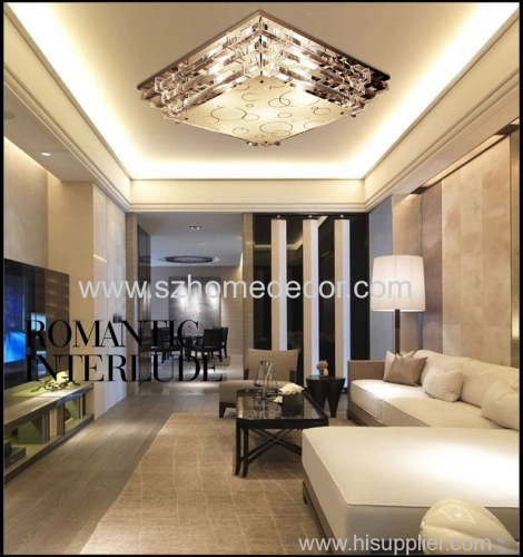 new design beautiful led pandent lighting led crystal lighting