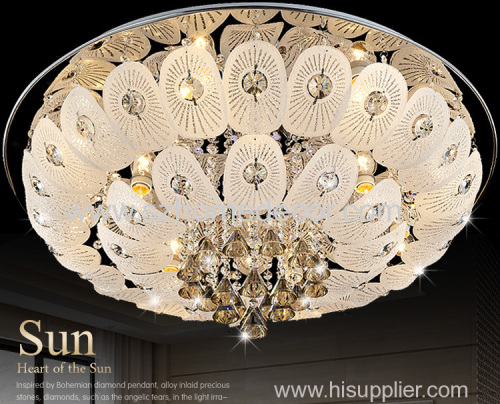 Hot selling oval shape bulb pandent light chandelier for living room or hotel decoration