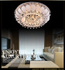 Hot sale modern led tear drop shape crystal glass lamp pandent lighting