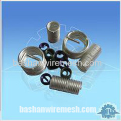 Stainless steel screw thread coils insert