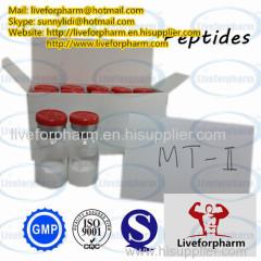Горячая продажа Mt-2 для наращивания мышц с лабораторией GMP (10 мг / флакон)
