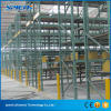 Industrial sheet metal iron tier single deep selective pallet rack