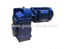 china manufacturer helical gearmotor