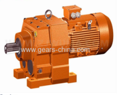 Wuma Iron Casting Helical Gearbox