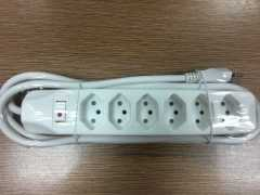 High quality mutliple Swiss power strip socket
